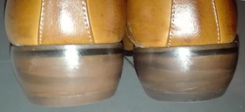 ミスターミニットで靴のかかと修理